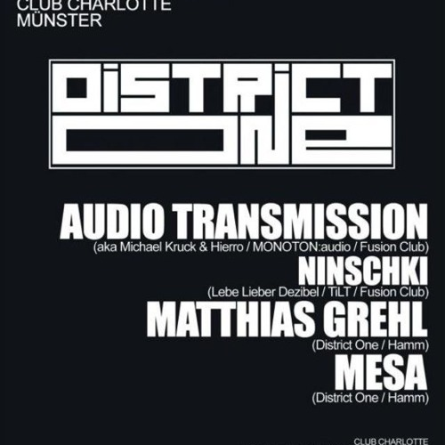 Matthias Grehl - District One @ Club Charlotte 24.11.2012
