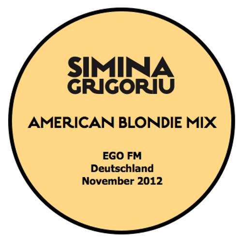 Simina Grigoriu - AMERICAN BLONDIE Mix