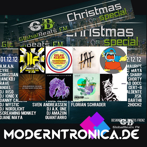 GlobalBeats FM X-Mas Special 2012 with Modertronica