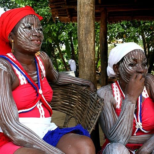 Liberia village traditional sound