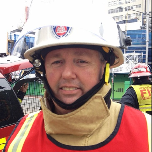 Insp. Mark Reilly, update on crane fire at UTS Broadway Campus