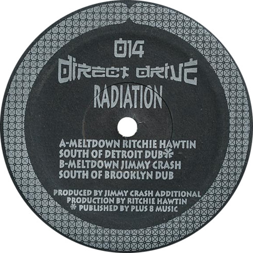 Radiation: Meltdown (Richie Hawtin South Of Detroit Dub) (1993) DDR014
