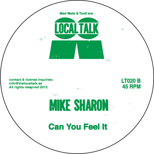Mike Sharon - Can You Feel It (LT020, Side B1)