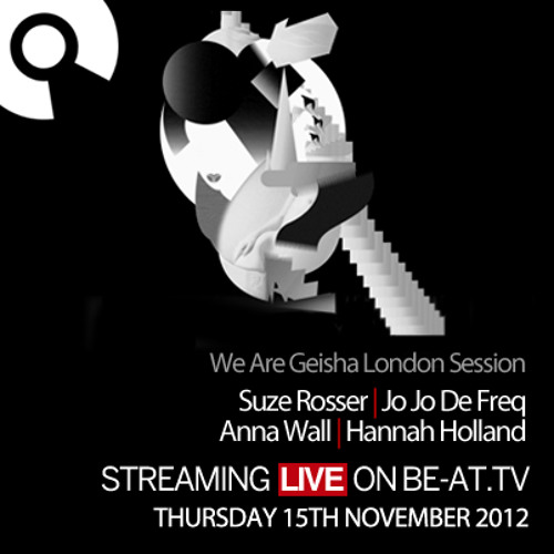 Suze Rosser - We Are Geisha Showcase - Be-At-TV - Nov 2012