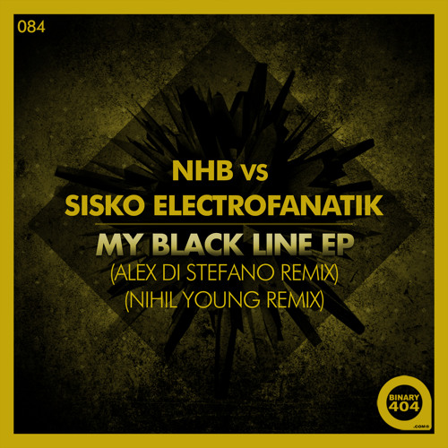 NHB Vs Sisko Electrofanatik - My Black Line (Alex Di Stefano Remix) - Preview -