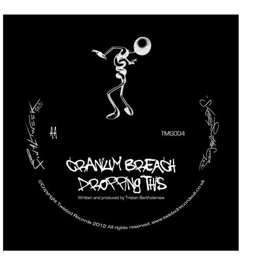 """Dropping This"" - Cranium Breach TMG004 12"" Vinyl Rel 28th Jan 2013"