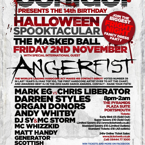Mark EG vs Chris Liberator @ Contact presents The 14th Birthday