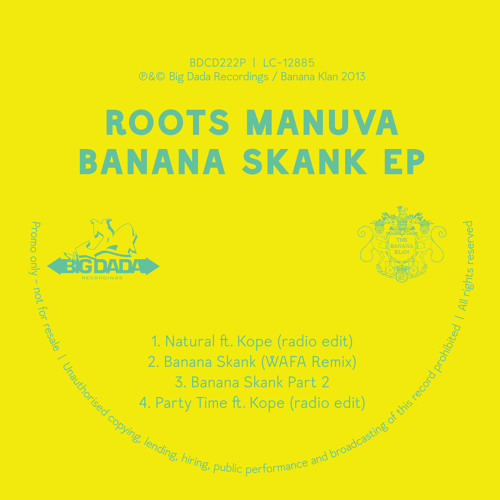 Roots Manuva -  Natural Featuring Kope (Clean Edit)