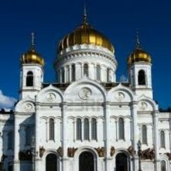 Choir at Cathedral of Christ the Savior in Moscow