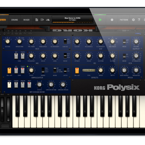 Korg iPolysix iPad App