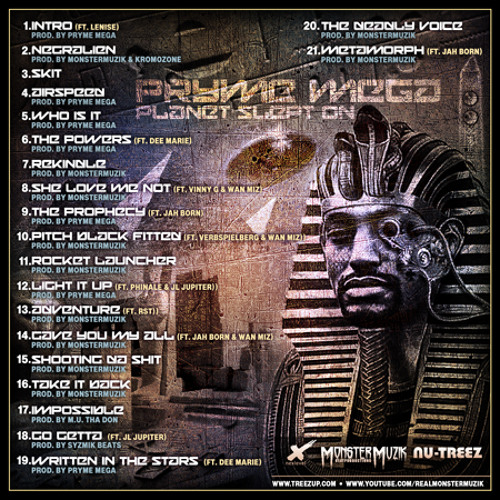 """Pryme Mega of The Nu-Treez presents """"THE POWERS"""" ft Dee Marie"""