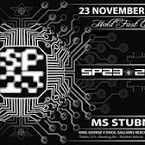Crystal distortioN, live onboard MS Stubnitz - SP23 party 23/11/2012