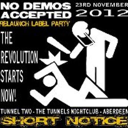 Calum Moore Live @ Short Notice 23.11.12