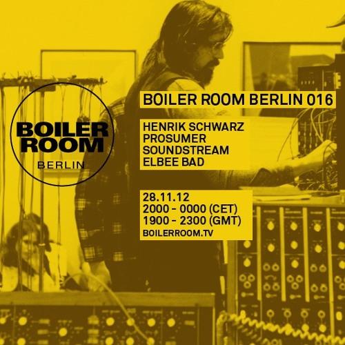 Prosumer 75 min Boiler Room Berlin DJ Set