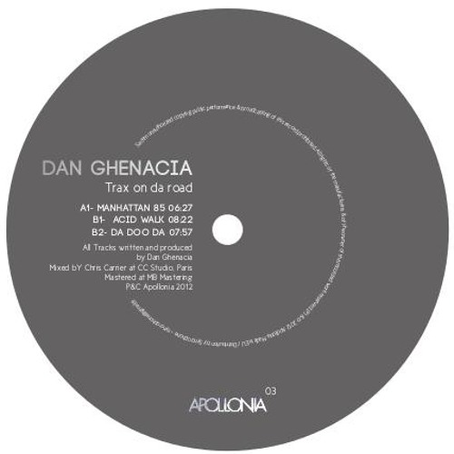 Dan Ghenacia - Acid Walk