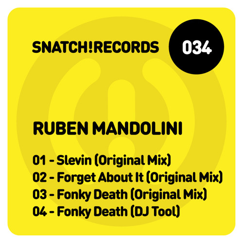 Ruben Mandolini - Slevin (Original Mix) CUT