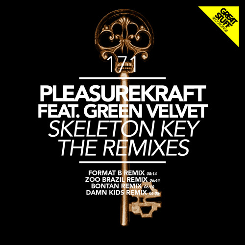 Pleasurekraft ft Green Velvet - Skeleton Key [Damn Kids Remix] - Dec 3