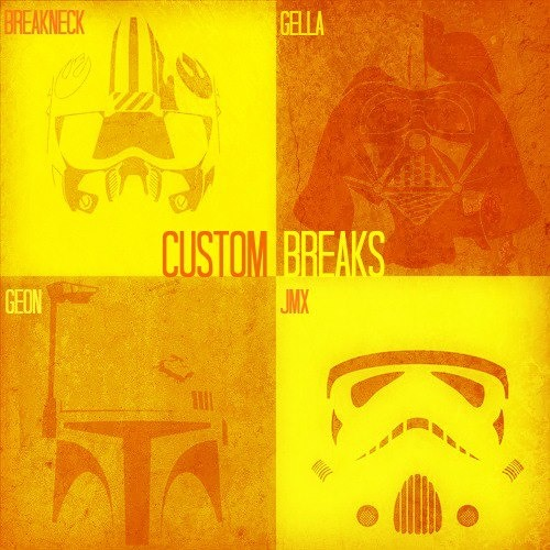 Custom Breaks (mixed by GEON, BREAKNECK, JMX, GELLA) Monkey tennis group