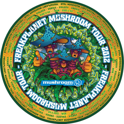Mat Mushroom - Freakplanet mushroom tour 24.11.2012