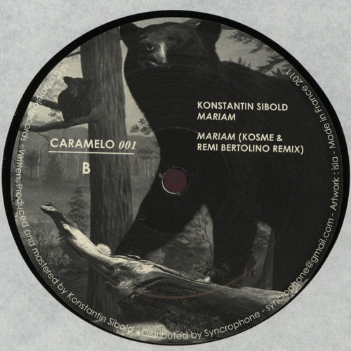 Konstantin Sibold - Mariam | Caramelo 001 B1 | VINYL ONLY