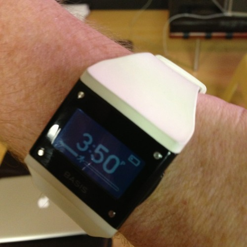 revolutionary product released today by @mybasis A watch that helps your health context. The Age of Context gets closer. at Basis