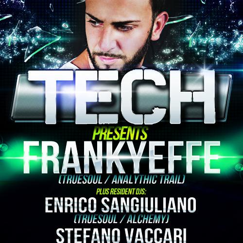 Enrico Sangiuliano @ TECH, Veronika Club - Parma - November 24th, 2012