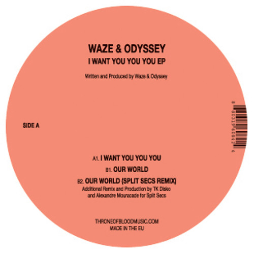 TOB030: Waze & Odyssey I Want You You You EP Snippets