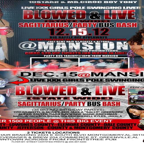 DEC 15@MANSION (STATE WIDE)*SAGITTARIUS/PARTY BUS BASH*FREE