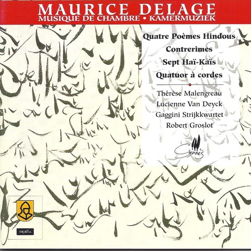 Maurice Delage Contrerimes 3 Danse By Therese Malengreau