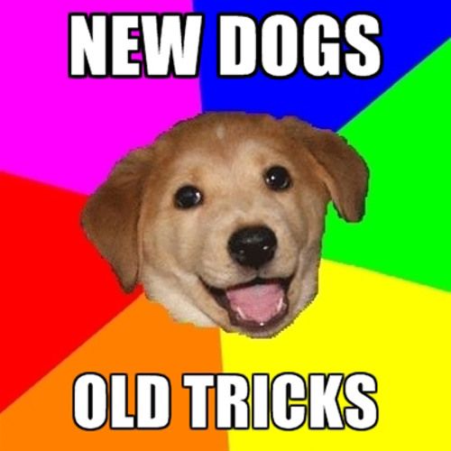 Agt Rave Cru - New Dogs, Old Tricks