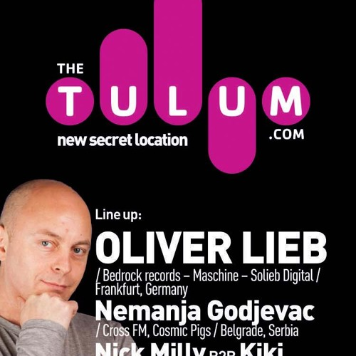 Free DJ Set: Oliver Lieb Live at The Tulum - Zagreb - October 27th 2012
