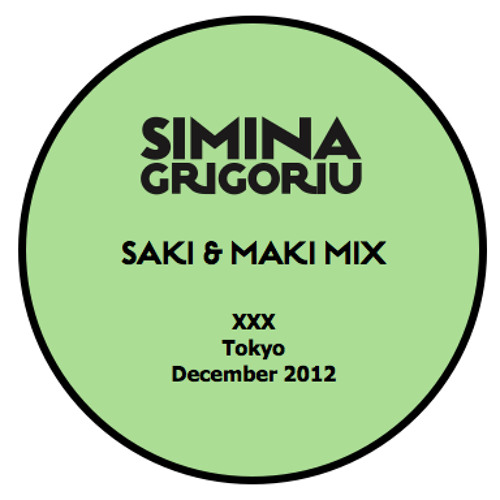 Simina Grigoriu - SAKI & MAKI Mix