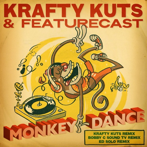 IVIBES009: Krafty Kuts & Featurecast - Monkey Dance - Ed Solo Jungle Remix - Instant Vibes