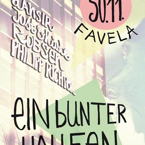 Robsen - Live @ Ein Bunter Haufen (30-11-2012), Club Favela - Münster