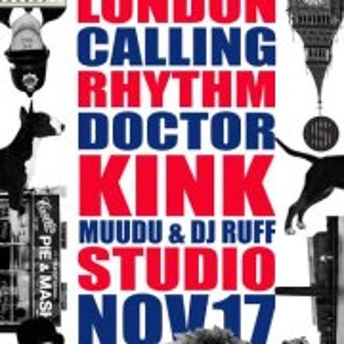 London Calling @ Studio - KiNK LIVE - November 2012
