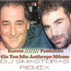 Karras ////Pantelidis - Gia Ton Idio Anthropo Milame (Dj Smastoras Remix )