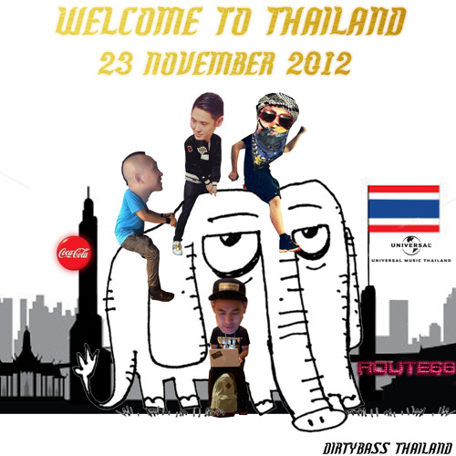 Far East Movement Shout out to Dirtybass Thailand and Thai Fans 27 Nov 2012