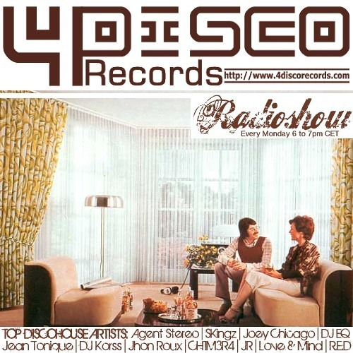 4DISCO Records - Radioshow with Joey Chicago 2012-12-03