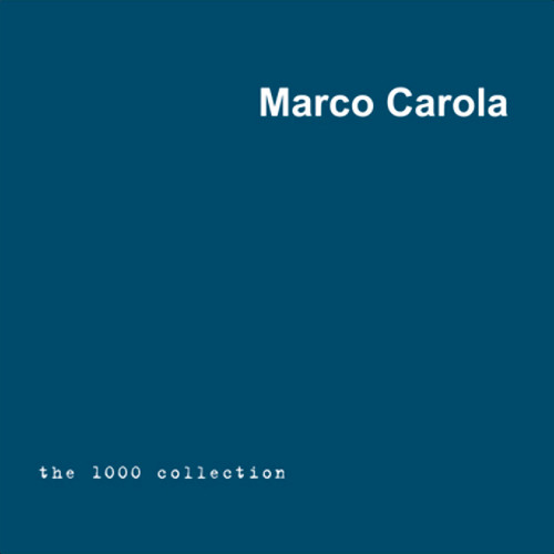Marco Carola: The 1000 Collection: Compressed (1998)