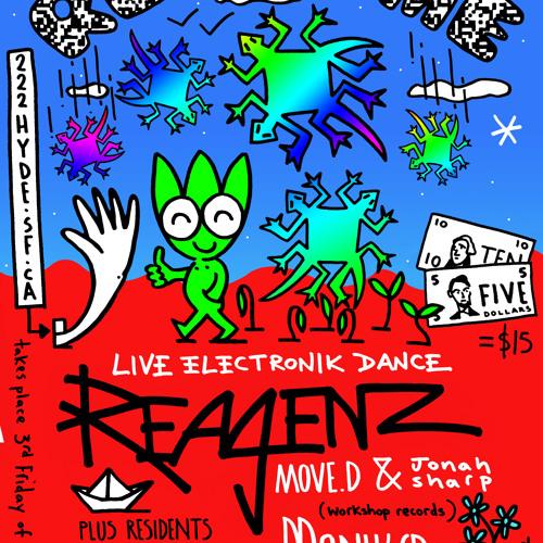 Reagenz live- 222 Hyde CLub SF 10 22 12