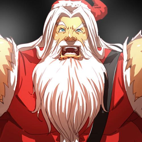 Santa Rockstar Jingle Bells