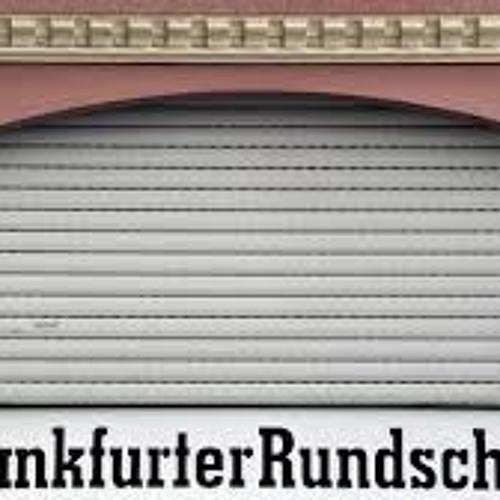 HNA Geschäftsführer Harold Grönke zur Insolvenz der Frankfurter Rundschau
