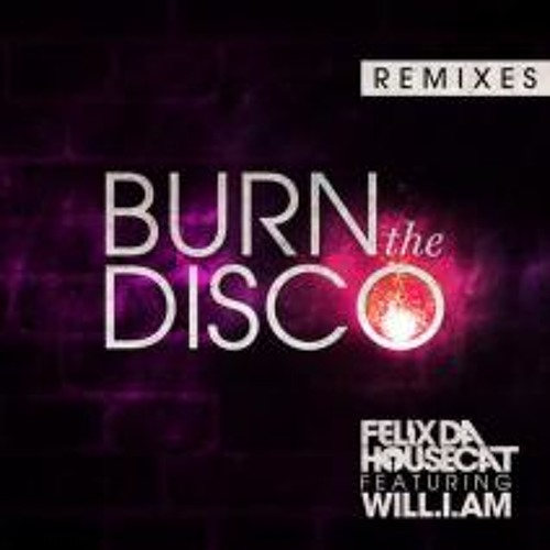 Felix Da Housecat Feat. will.i.am - Burn The Disco (Bro Safari Remix) - Preview