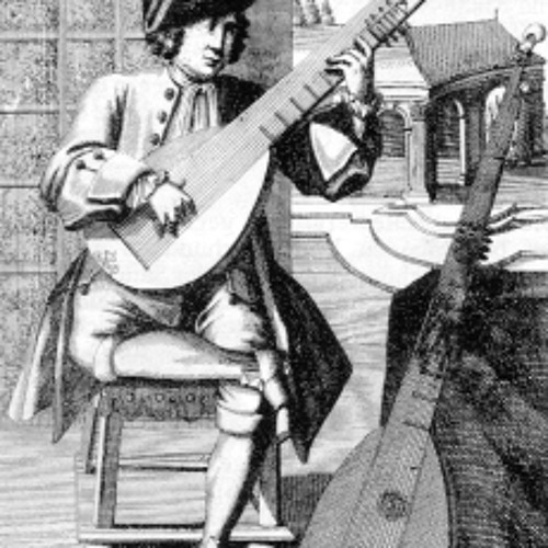 Robert de Visee: Bouree (arr. for expanded guitar)