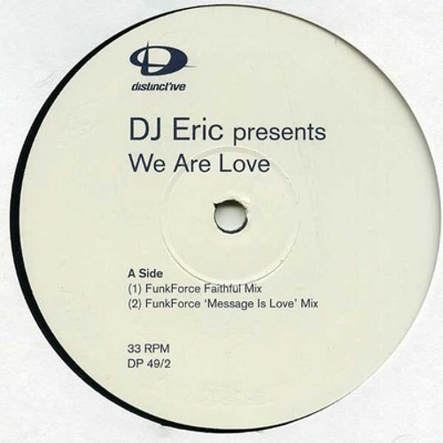 DJ Eric - We Are Love (Oscar Edit)