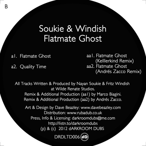 Soukie & Windish - Flatmate Ghost (Kellerkind Remix)
