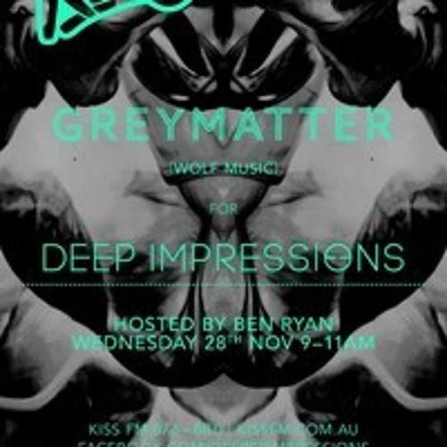 Greymatter Deep Impressions Mix December 2012