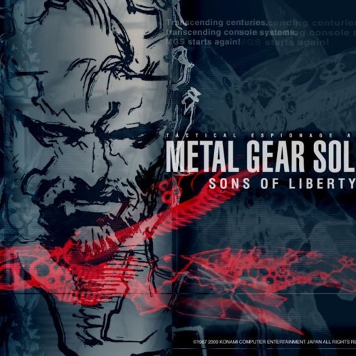 Metal gear solid 2 main theme