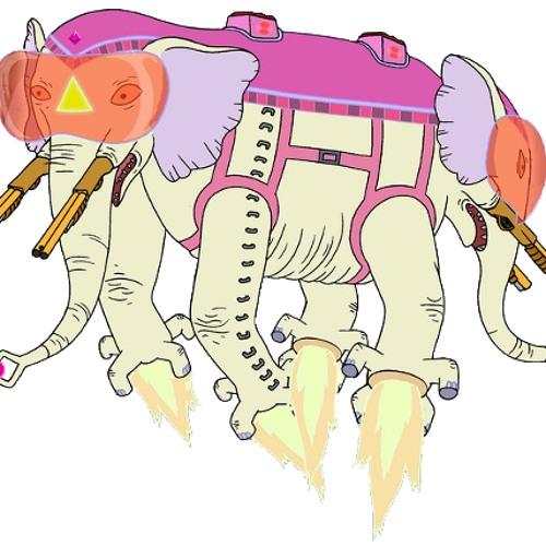 Telepathic Tandem War Elephant (update)