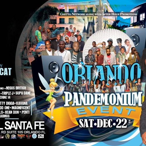 Orlando Pandemonium Event Sat Dec 22nd